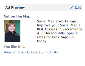 Facebook Ad Example for Sacramento Attoney Lawyer Marketing