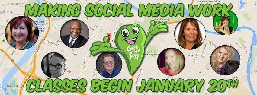 Social Media Workshops, Classes, Training & Webinars - Get On The Map - Sacramento SEO Search Engine Optimization & Social Media