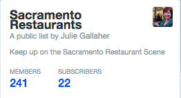 best sacramento restaurants twitter list