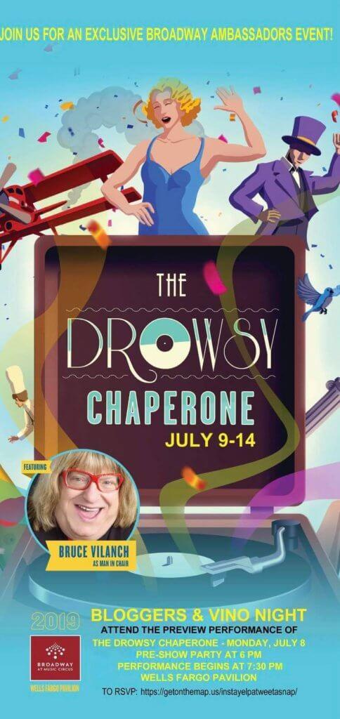 drowsy chaperone invite